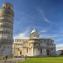 funny review The Leaning Tower of Pisa, Italy.